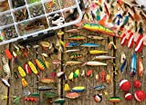 Cobble Hill Fishing Lures Jigsaw Puzzle (1000 Piece)