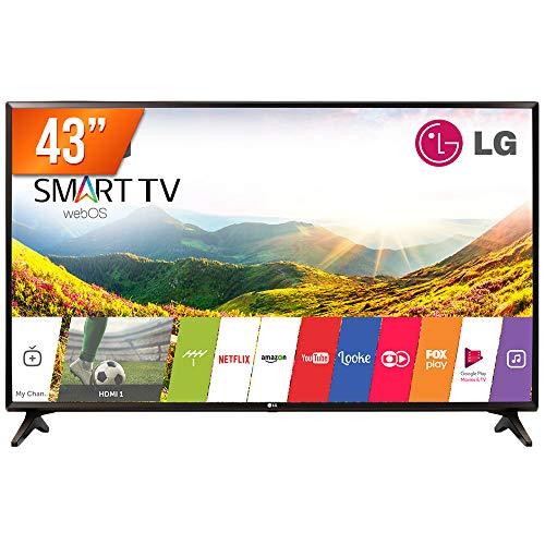 TV 43 Polegada LED Smart Full HD HDMI USB - 43LJ551C. BWZ, LG
