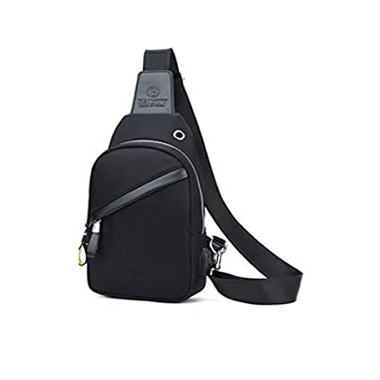 BLWX - Chest Bag Male Korean Version of The Tide New Canvas Small Backpack  Casual Bag 611c8ce4d0a68