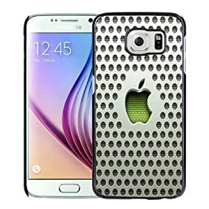 Fashion DIY Custom Designed Samsung Galaxy S6 Phone Case For Plastic Apple Logo Phone Case Cover