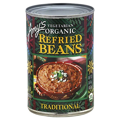 Amy's Refried Beans Traditional 15.4 OZ(Pack of 3)
