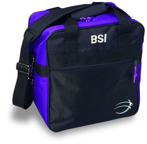 BSI Solar II Single Ball Tote Bag (Black/Purple)