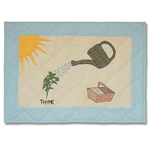 Patch Magic Herb Garden Place Mat, 19-Inch by 13-Inch