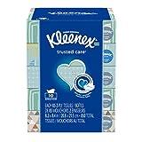 Kleenex Trusted Care Everyday Facial Tissues, Flat Box, 85 Tissues per Flat Box, 10 Packs