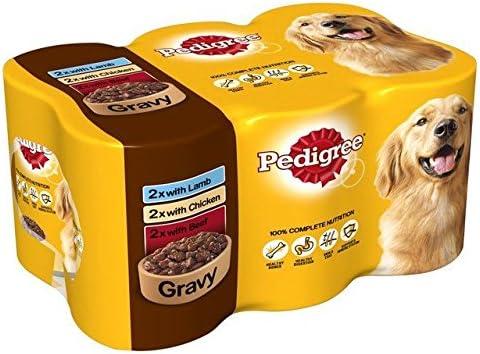 PEDIGREE - Caja de latas para Perro (6 Unidades, 400 g): Amazon.es: Productos para mascotas