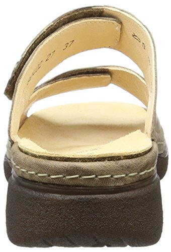 Think Cambio - Mules Mujer Beige (taupe/kombi 27)