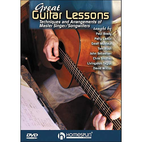 Great Guitar Lessons: Techniques And Arrangements Of Master Singer/Songwriters DVD Pack of 2