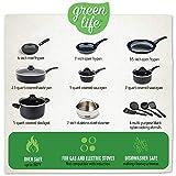 GreenLife CC001922-001 Soft Grip 16 Piece Ceramic