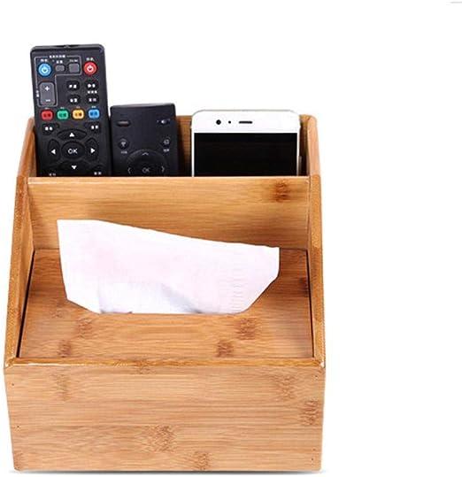 Womdee Caja de Pañuelos de Madera con 1 Compartimentos, Cajas de ...