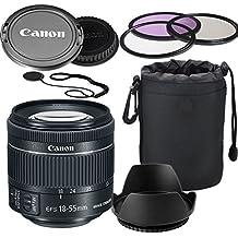 Canon EF-S 18-55mm f/4-5.6 IS STM Lens (White Box)