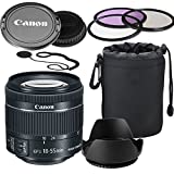 Best ALS VARIETY Affordable Dslrs - Canon EF-S 18-55mm f/4-5.6 IS STM Lens Review