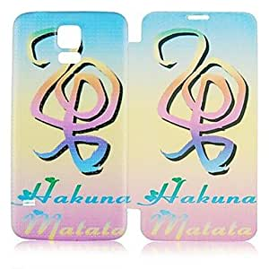 Musical Note Pattern Full Body Case for Galaxy S5 I9600