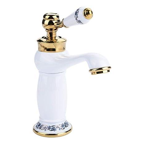 Qualität Retro Hoch Einhebelmischer Wasserhahn Küchen Bad Armatur Waschbecken DE