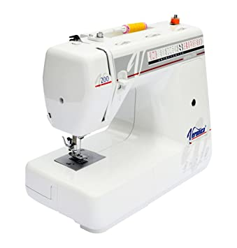 Veronica Optima 200 - Máquina de coser (Máquina de coser automática, Blanco, Bordado, Overlock, Costura, Botones, Giratorio, Eléctrico): Amazon.es: Hogar