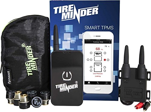 TireMinder Smart TPMS with 6 Transmitters for RVs, MotorHomes, 5th Wheels, Motor Coaches and Trailers - Tire Minder Rv
