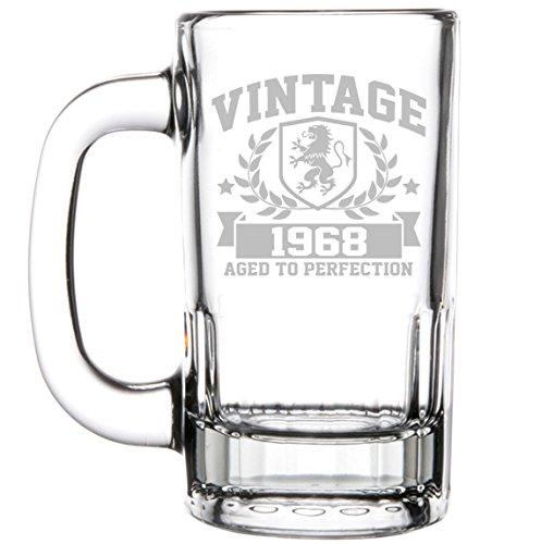 50th birthday beer mug - 2