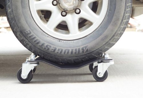 Pentagon Tools 5060 Tire Skates 4 Tire Wheel Car Dolly Ball Bearings Skate Makes Moving A Car Easy, 12''  (Pack of 4) Rated at 6000lbs. by Pentagon Tools (Image #9)