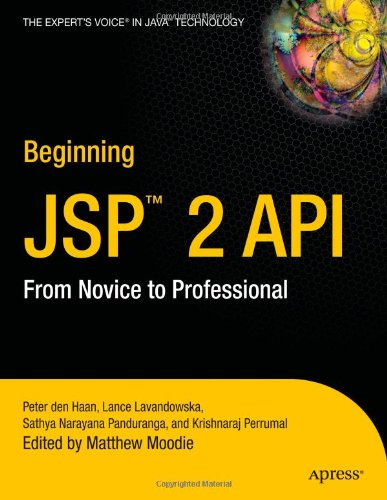 Beginning JSP 2: From Novice to Professional by Apress