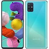 """Samsung Galaxy A51 (128GB, 4GB) 6.5"""", 48MP Quad Camera, Dual SIM GSM Unlocked A515F/DS- Global 4G LTE International Model - Prism Crush Blue"""