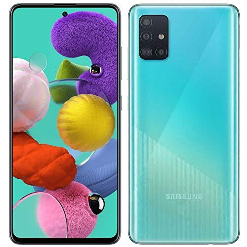 Samsung Galaxy A51 A515F 128GB DUOS GSM Unlocked Phone w/Quad Camera 48 MP + 12 MP + 5 MP + 5 MP (International Variant…