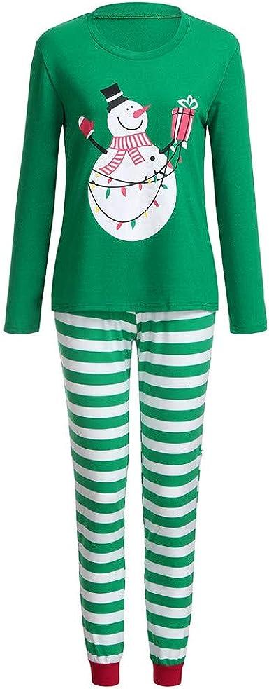 cinnamou Pijama Familiar NavideñO Conjunto De Pijama Pajamas ...
