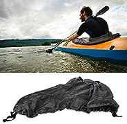 Acouto Kayak Spray Cover,Universal Adjustable Nylon Kayak Spray Skirt Waterproof Cover Water Sports Accessory