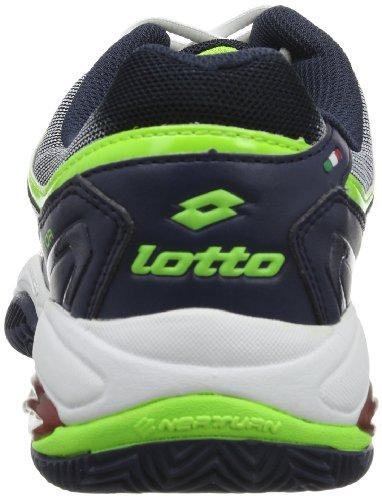 Lotto VECTOR VI R0098 - Zapatillas de tenis de caucho para hombre, color azul, talla 39 Azul (Blau (AVIATOR/WHT))