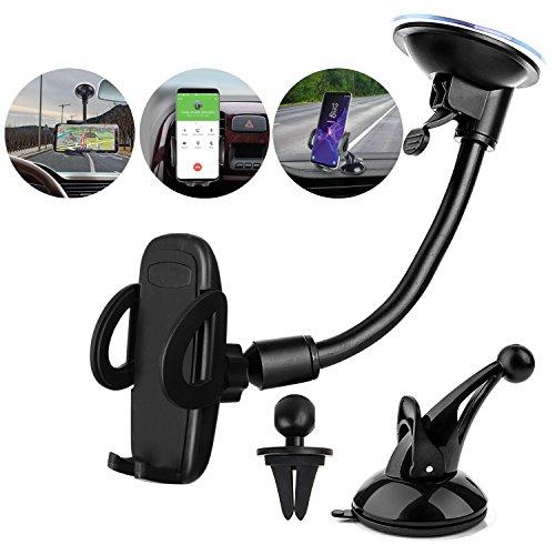 Ogaming Super 3-in-1 Car Phone Mount Holder Cradle, Universa