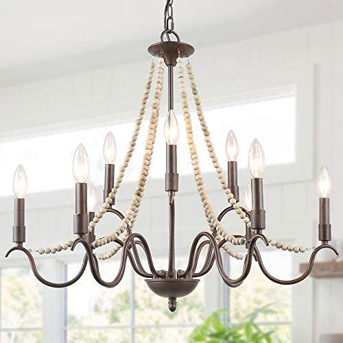 Farmhouse Chandelier Dining Room Chandelier