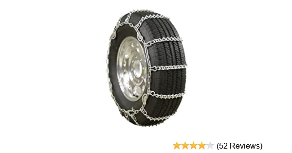 Glacier Chains H3810SC Light Truck V-Bar Twist Link Tire Chain