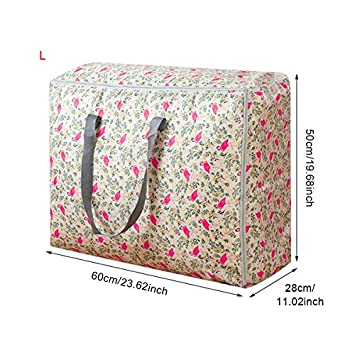 1719ba19023a Autumn Water Portable Household Quilt Storage Bags Home Clothing Blanket Luggage  Wardrobe Cabinets Organizer Gear Whole