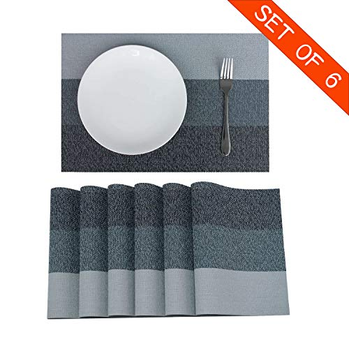 Familamb Placemats for Dining Table Set of