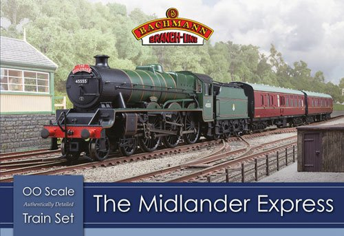 BRANCH-LINE 30-285 the Midlander Express Train Pack OO Scale Model