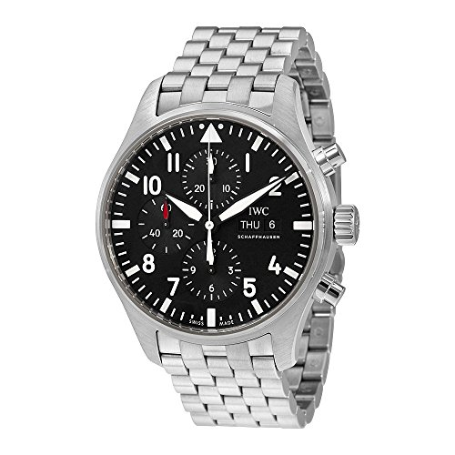 IWC Men's Swiss Quartz and Stainless Steel Watch, Color:Silver-Toned (Model: IW377710)