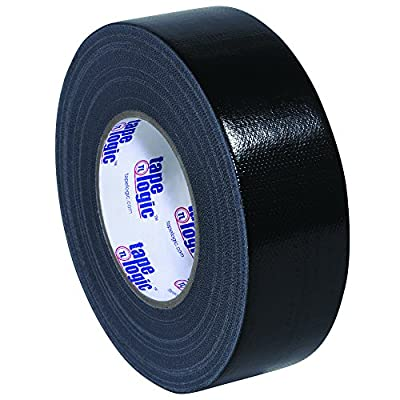 "BOX USA BT987100B3PK Black Tape Logic Duct Tape, 10 mil, 2"" x 60 yd. (Pack of 3) from BOX USA"