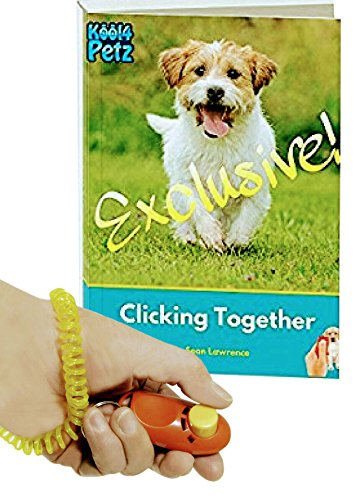 Dog Training Clicker Kit with 2 x Kool4Petz strong professional pet training clickers and FREE BONUS puppy training eBook