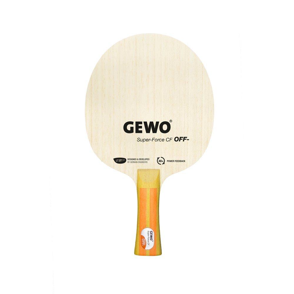 Tenis de mesa | Gewo Super fuerza CF Carbon Blade (con mango ...