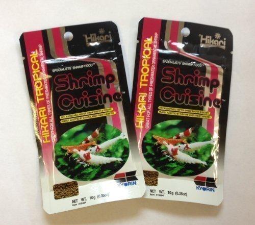 (Hikari Shrimp Cuisine Specialist Shrimp Food By 10G Pack Of Two)