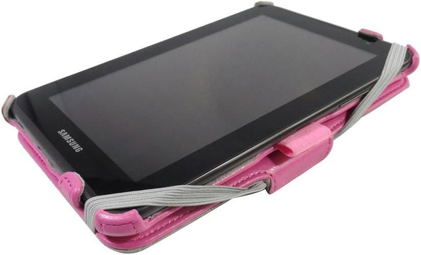 Amazon.com: Procase Galaxy Tab 2 7.0 Caso Flip Folio Stand ...