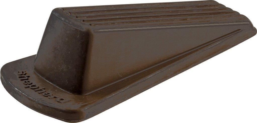 Shepherd Hardware 9133 Heavy Duty Rubber Door Wedge, Brown (12 Pack) …