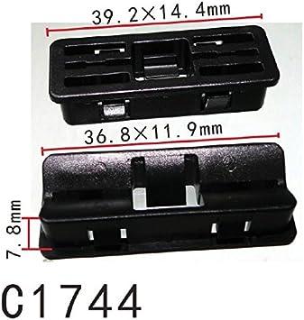 50pcs For GM #20462090 Garnish Moulding Clip Rivet Retainer Fastener 1978 UP