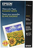 Epson Watercolor Paper Radiant, White, 13 x 19