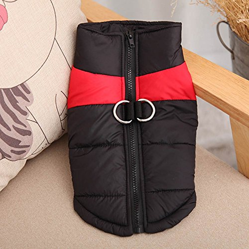 Waterproof Small/ Large Pet Dog Clothes Winter Warm Padded Coat Pet Vest Jacket - Chameleon Pet Costume