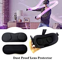 Cover Dust Replacement for Oculus Quest Accessories, 1 Pack Universal VR Lens Protective Pad Face Cover Dust Proof, Washable Protective Sleeve Virtual Reality Accessories eye mask VR Headset