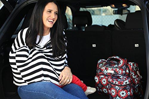 Ju-Ju-Be 09FM02A-REN - Bolsa de pañales convertible Rojo (Sweet Scarlet)