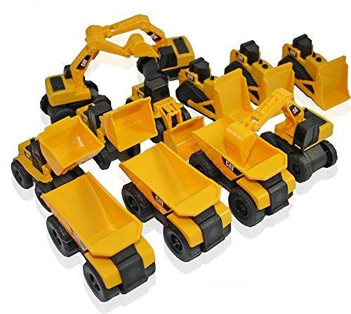 Cat Construction Toys : Toy state cat caterpillar construction toys mini machine