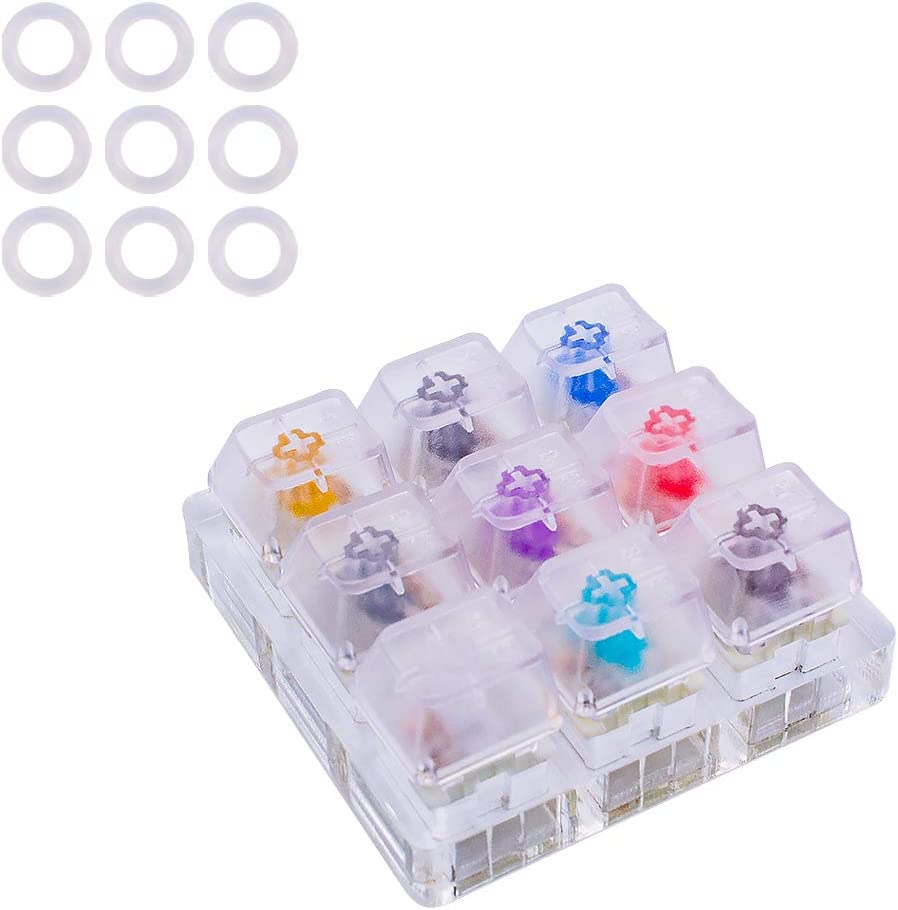 Outemu Switch Tester - 9 Switches + O-Rings