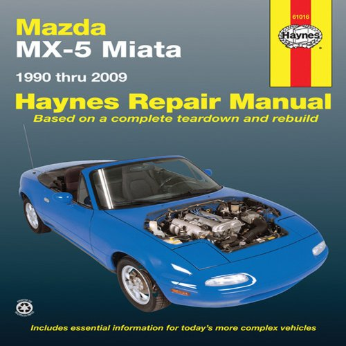 mazda miata automotive repair manual 90 09 haynes automotive rh amazon co uk NB Miata mazda mx5 na service manual