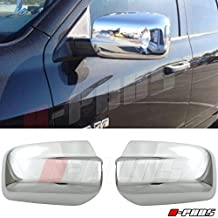 A-PAD Chrome Mirror Cover For 2009-2016 DODGE RAM 1500 MIRROR COVER W/O Turn Signal Place Cutout Full Covers (No Arm)