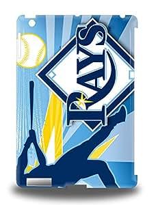 Fashion Design Hard 3D PC Case Cover MLB Tampa Bay Rays Logo Protector For Ipad Air ( Custom Picture iPhone 6, iPhone 6 PLUS, iPhone 5, iPhone 5S, iPhone 5C, iPhone 4, iPhone 4S,Galaxy S6,Galaxy S5,Galaxy S4,Galaxy S3,Note 3,iPad Mini-Mini 2,iPad Air )